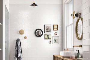 Płytki ceramiczne: modne kolekcje w bieli