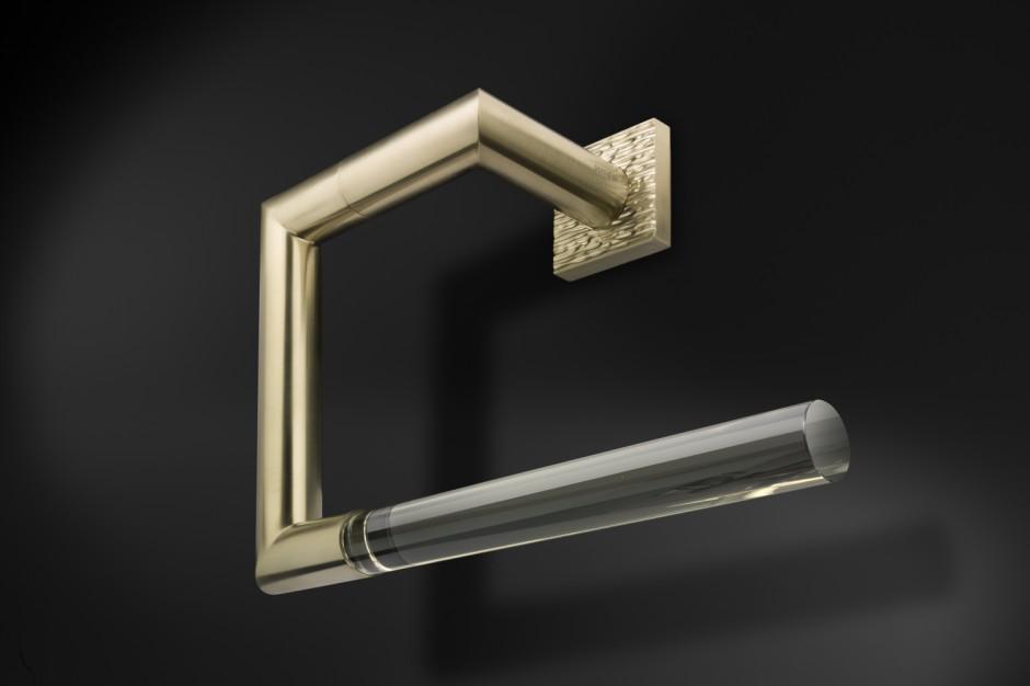 Akcesoria łazienkowe: eleganckie dodatki w biżuteryjnym stylu