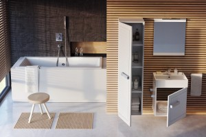 Mała łazienka: gotowy pomysł na aranżację za 4 tys. złotych