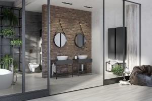 Łazienka w stylu loft: wybieramy wyposażenie