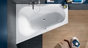 Mała łazienka: 5 pomysłów na wannę w narożniku