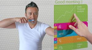 Łazienka w stylu smart: interaktywne lustro [nowość]