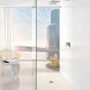 Modna strefa prysznica: seria brodzików o różnych wzorach
