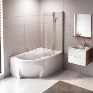 Nowoczesna łazienka: nowe meble i ceramika