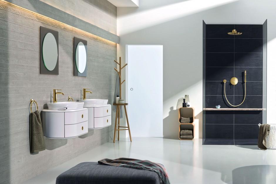 Elegancka łazienka: zobacz piękną serię baterii