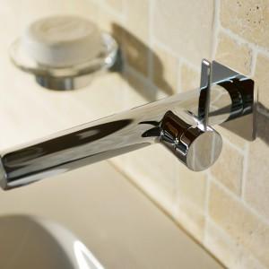 Minimalizm w łazience: oryginalny model baterii umywalkowej