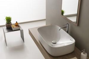 Umywalki stawiane na blat: 10 modeli w bieli