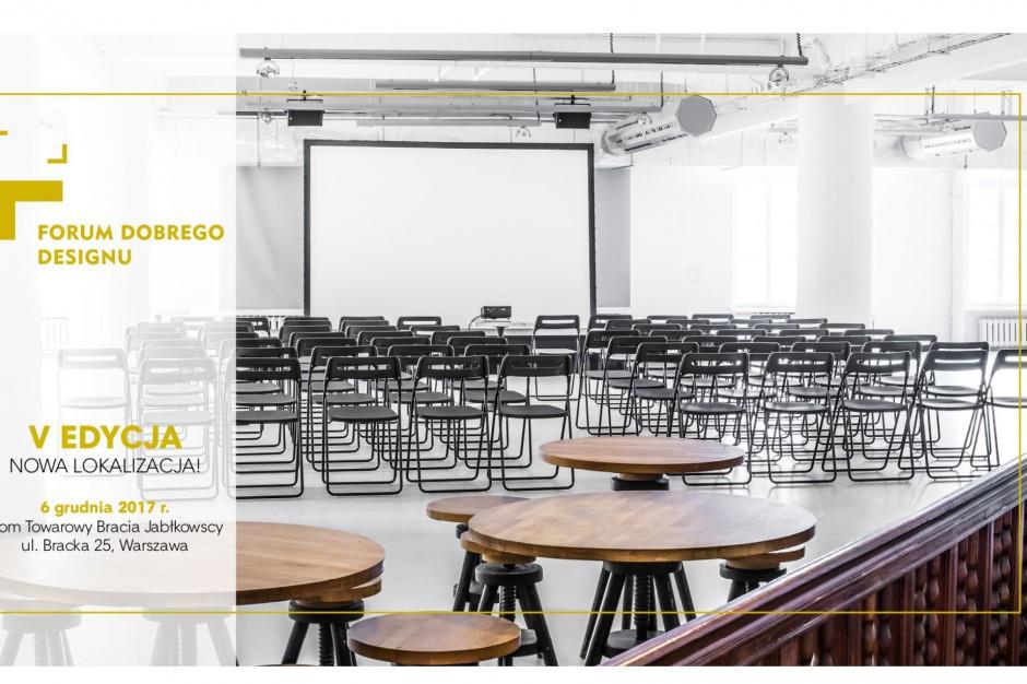 Przed nami 5. edycja Forum Dobrego Designu. Co czeka nas w tym roku?
