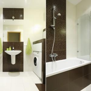 Mała łazienka: postaw na wannę z parawanem