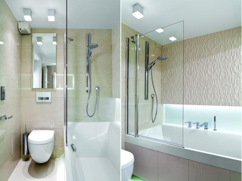 Aranżujemy Mała łazienka Postaw Na Wannę Z Parawanem