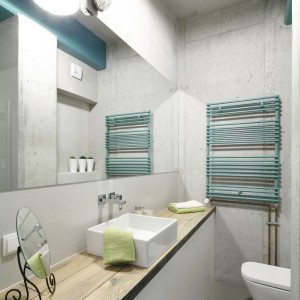 Łazienka w stylu loft: wybieramy oświetlenie