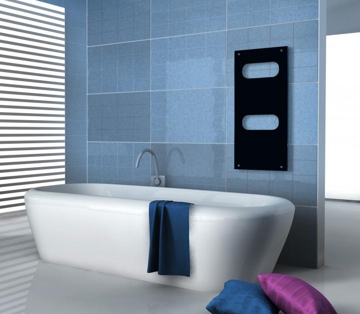 Grzejnik w łazience: dekoracyjne modele ze szkła