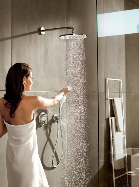 Komfort pod prysznicem: nowa seria armatury