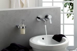 Baterie umywalkowe: 5 modeli podtynkowych
