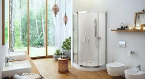 Półokrągła kabina prysznicowa: modele do narożnika