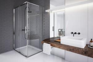 Szara łazienka: pomysły na aranżację