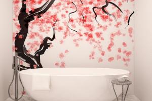 Ściany w łazience: co zamiast płytek?