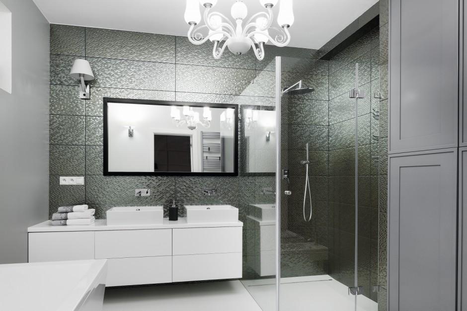 Inspirujemy łazienka W Stylu Glamour Inspiracje Z Polskich Domów