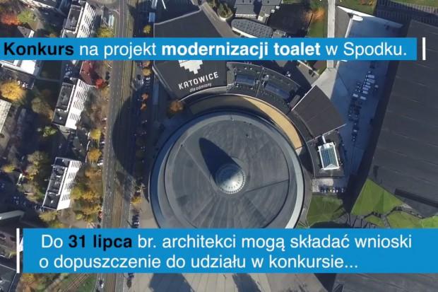 Trwa konkurs na koncepcję toalety w Spodku