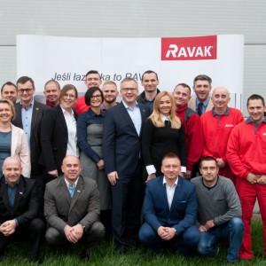 20 lat marki Ravak na polskim rynku