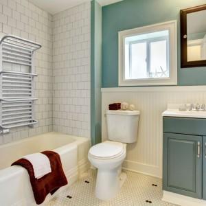 Remont łazienki: wybieramy grzejnik