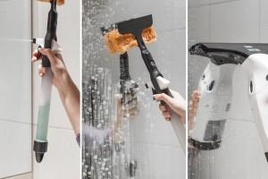 Jak czyścić kabinę prysznicową? Postaw na myjkę do okien!