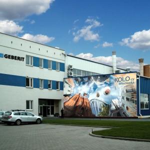 Geberit zapłaci 5 tys. zł za mural na swojej fabryce