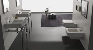 Geometria w łazience: ceramika sanitarna o prostokątnej formie