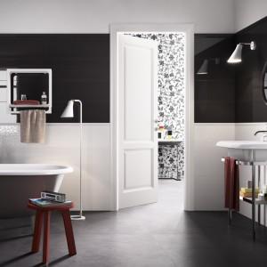 Czarno-biała łazienka: 5 kolekcji płytek ceramicznych