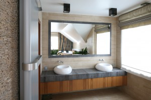 Strefa umywalki w łazienkach Polaków: misy stawiane na blat