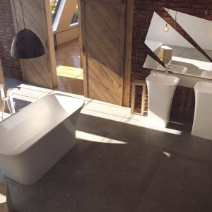 3 modele wolno stojących umywalek