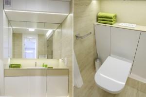 Łazienka w bloku: 10 niewielkich wnętrz z polskich domów