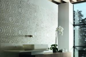 Ściana nad umywalką: 4 świetne pomysły