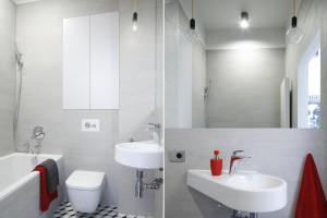 Nowoczesna łazienka: 10 pomysłów na oświetlenie