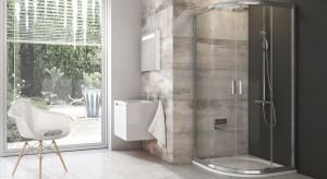 Prysznic w małej łazience: wybierz kabinę półokrągłą