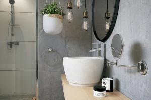 Praktyczna i stylowa: zobacz gotową aranżację łazienki