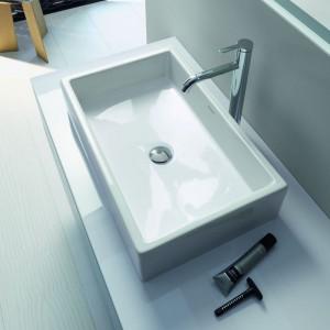 Nowoczesna łazienka: nowa seria o geometrycznej formie