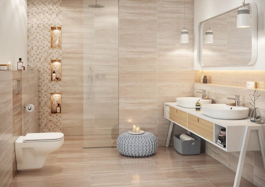 Aranżujemy Płytki Jak Kamień 10 Eleganckich Kolekcji łazienkapl