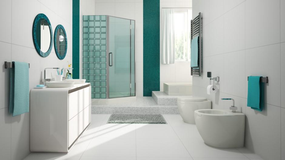 Aranżacja łazienki: tak ożywisz ją luksferami