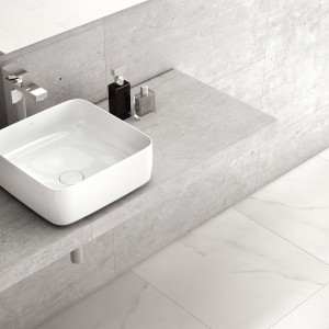 Umywalki stawiane na blat: 3 modele o prostokątnej formie