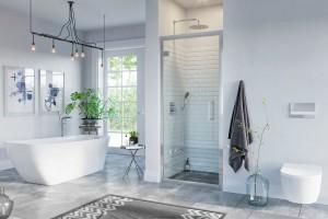 Strefa prysznica we wnęce: 5 modeli kabin