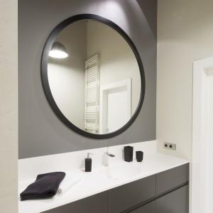 Okrągłe lustro w łazience: zobacz 3 różne projekty