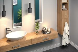 Uchwyty meblowe: tak odświeżysz aranżację łazienki!