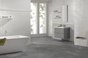 Białe płytki ceramiczne: kolekcje do eleganckiej łazienki