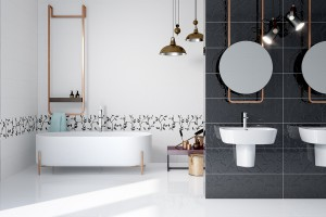 Płytki ceramiczne: 5 efektownych dekorów