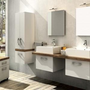 Białe meble łazienkowe: 5 ponadczasowych kolekcji