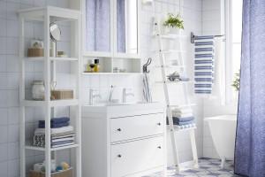 5 pomysłów na drabinę w łazience
