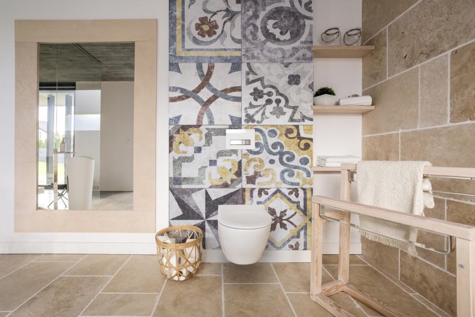 Orientalny motyw na ścianie - nie tylko w formie płytek!