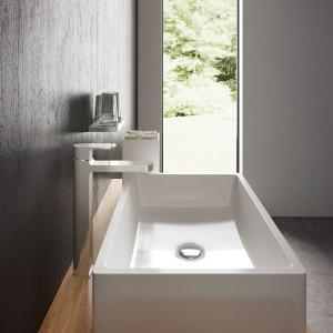 Funkcjonalna strefa umywalki: wybierz wariant nablatowy