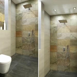 Prysznic bez brodzika: 10 zdjęć z polskich łazienek